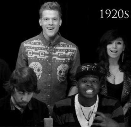 Stimmgewaltiges Musikvideo vereint 400 Jahre Musikgeschichte